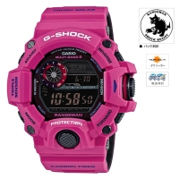CASIO (カシオ) G-SHOCK Master of G RANGEMAN MEN IN SUNRISE PURPLE MULTIBAND6 ソーラー電波時計(GW-9400SRJ-4JF)