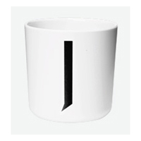 DESIGN LETTERS AJ melamin cup J THE KIDS COLLECTION(20201000J)