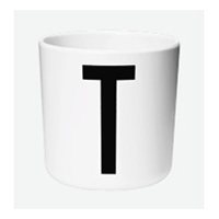 DESIGN LETTERS AJ melamin cup T THE KIDS COLLECTION(20201000T)