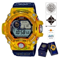 CASIO (カシオ) 【6月発売モデル】 G-SHOCK RANGEMAN LOVE THE SEA AND THE EARTH MULTIBAND6 ソーラー電波時計(GW-9403KJ-9JR)