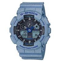 CASIO (カシオ) 【7月発売モデル】 G-SHOCK DENIM D COLOR(GA-100DE-2AJF)