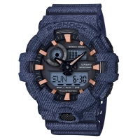 CASIO (カシオ) 【7月発売モデル】 G-SHOCK DENIM D COLOR(GA-700DE-2AJF)