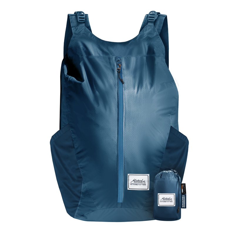 [KMD0014] FREERAIN24 BACKPACK (Indigo blue)