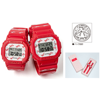 CASIO (カシオ) LOV-20B-4JR G Presents Lovers Collection 2020 ラバーズコレクション2020年モデル 限定モデル G-SHOCK Baby-G DW-5600LH-4W BGD-560LH-4W
