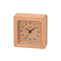 CASIO (カシオ) TQ-121-7JF 目覚まし時計 天然木 欅モデル